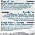 The Coachella Music Festival lineup for 2011 has been announced! There's lots to like, including Arcade Fire, Chemical Brothers, Interpol, Black Keys, Kings of Leon, Bright Eyes, Mumford and Sons,...