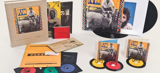 Contest details below - Following the recent reissues of McCartney, McCartney II, and Band on the Run, RAM is the latest album from Paul's iconic back catalogue to get the...