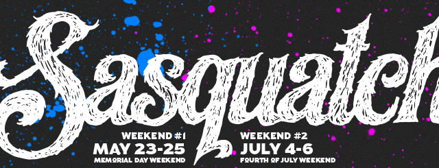 The Sasquatch Music Festival in George, WA, returns for two weekends in 2014. The festival runs Memorial Day weekend (May 23rd – 25th) and Fourth of July weekend (July 4th […]